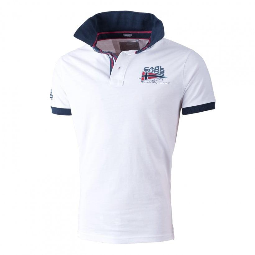 Sporteverest ct polo majica norway 84 white 1